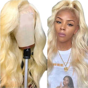 Ali Grace 5x5 613 Blonde Color Body Wave Human Hair Wigs 150% Density 14-24 Inches Best Lace Front Wig For Women Online For Sale BW613 613 Blonde Wigs AliGrace