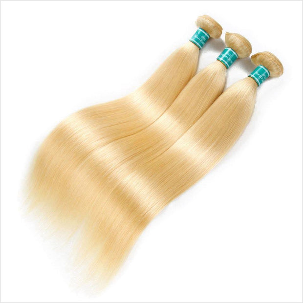 Brazilian 613 blonde Straight Hair 3 Bundles-11