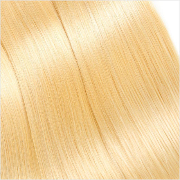 Blonde  Straight Human Hair 4 Bundles-11