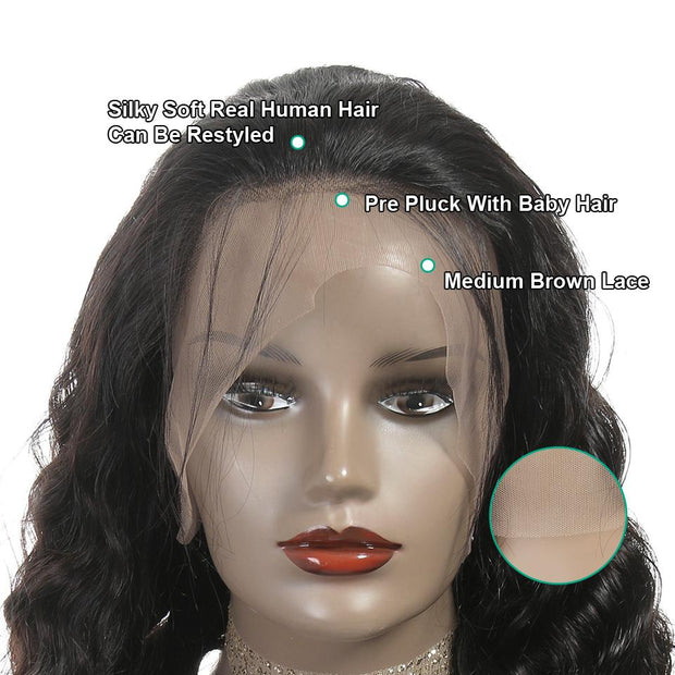 Loose Wave Lace Wigs-8