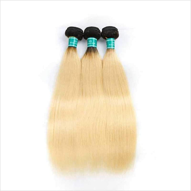 Ombre Brazilian Straight Hair Bundles-6