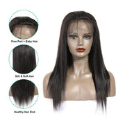 Full Lace Wigs Straight Human Hair Wigs-8