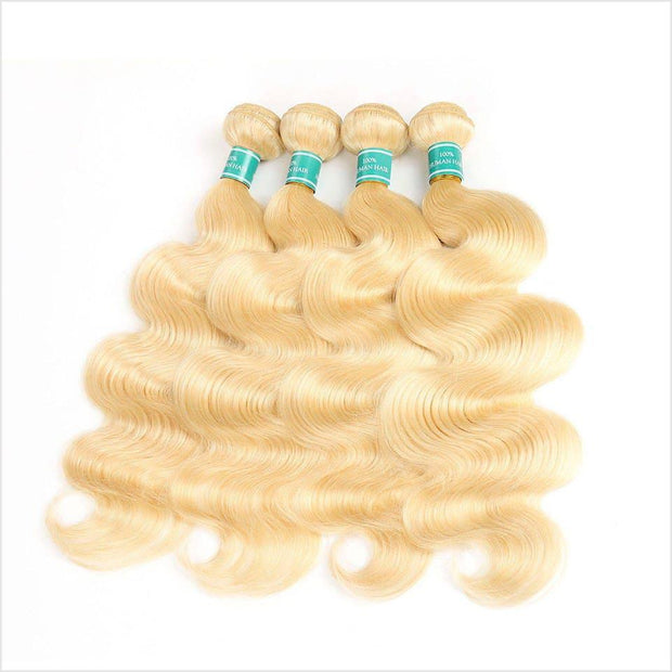613 Blonde Color Human Hair Wigs-8