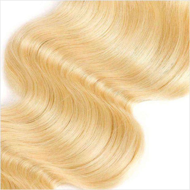 613 Blonde Color Human Hair Wigs-11