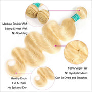 Blonde Body Wave 1 Bundles-6