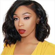 Loose Wave Black Bob Wigs-9