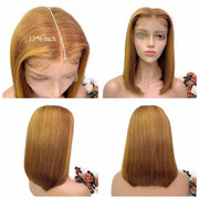 Ali Grace Straight Bob Wigs 13*4 Short Human Hair Lace Front Wigs