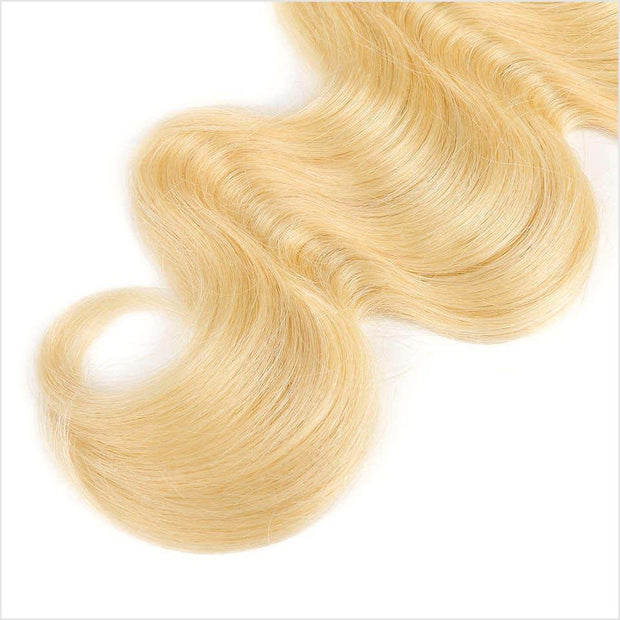 613 Blonde Color Human Hair Wigs-12