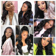 Full Lace Wigs Body Wave Human Hair Wigs-14