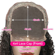 Lace Closure Human Hair Wigs-5