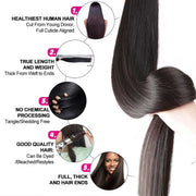Brazilian Straight Human Hair-11