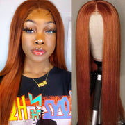 ginger-orange-straight-lace-closure-wig