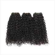 Kinky Curly Human Hair 4 Bundles-5