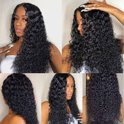 Ali Grace Pre-plucked Deep Wave Glueless Full Lace Wigs With Natural Baby Hair Full Density Human Hair Wigs Full Lace Wigs AliGrace