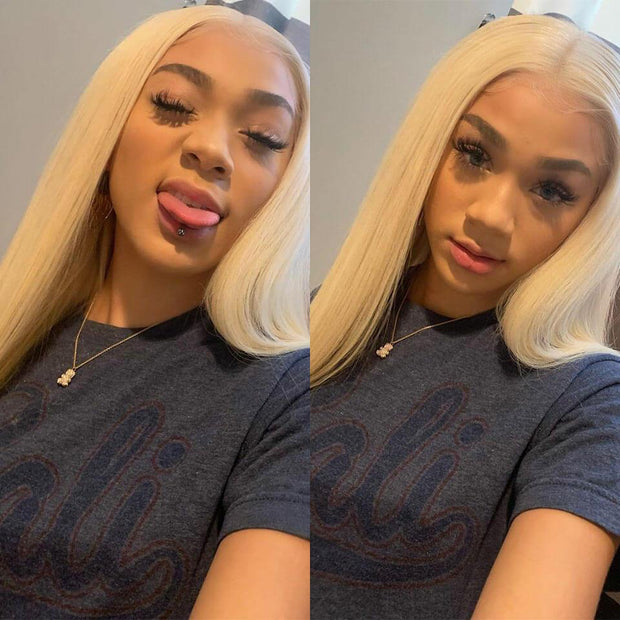 Straight Hair Bundles With Lace Frontal-10