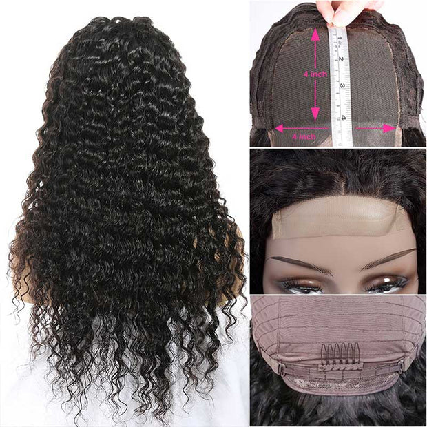 Lace Closure Human Hair Wigs-4
