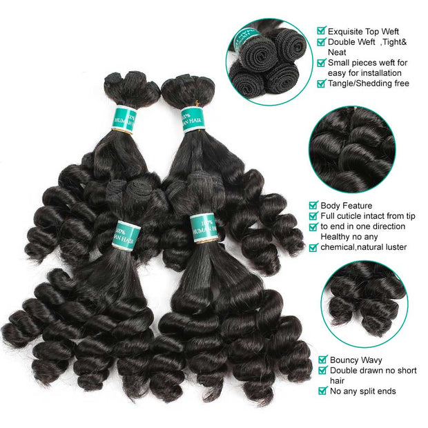 Curly Hair 3 Bundles-5