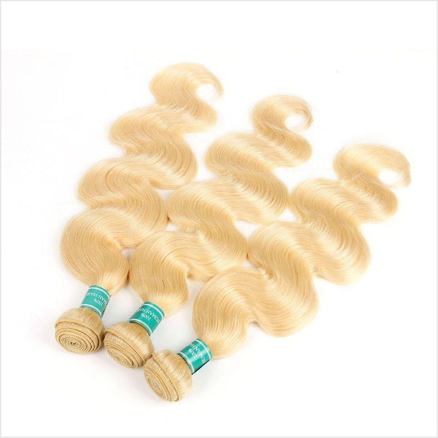 Ali Grace Blonde Virgin Human Hair 1 Bundles 10-28 inches 613 Body Wave Human Hair Bundles
