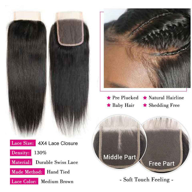 Brazilian Straight Human Hair-12