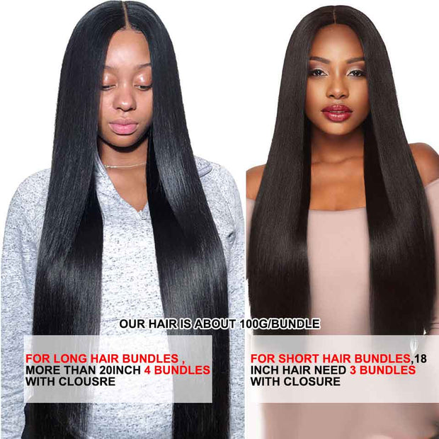 Brazilian Straight Human Hair-13