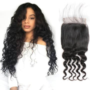 Malaysian Loose Wave 5*5 Lace Closure-1