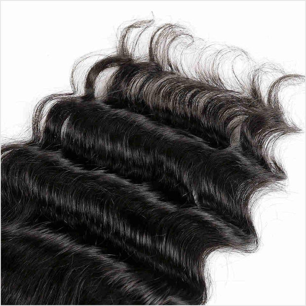 Malaysian Loose Wave 5*5 Lace Closure Swiss Lace in Medium Brown Middle Part Swiss Lace Closure