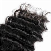 Ali Grace Hair 5X5 Lace Closure Brazilian Loose Wave Human Hair Closure With Baby Hair Free/Middle Part