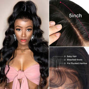 Ali Grace Pre-plucked Loose Wave Lace Wigs 10a Grade Virgin Human Hair Glueless Full Lace Wigs