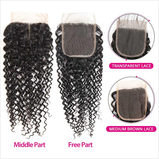 Brazilian Kinky Curly Hair 4 Bundles-7