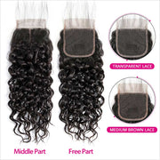 Brazilian Water Wave Hair 4 Bundles-4