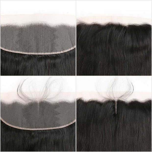 Malaysian Straight Hair 13*4 Lace Frontal
