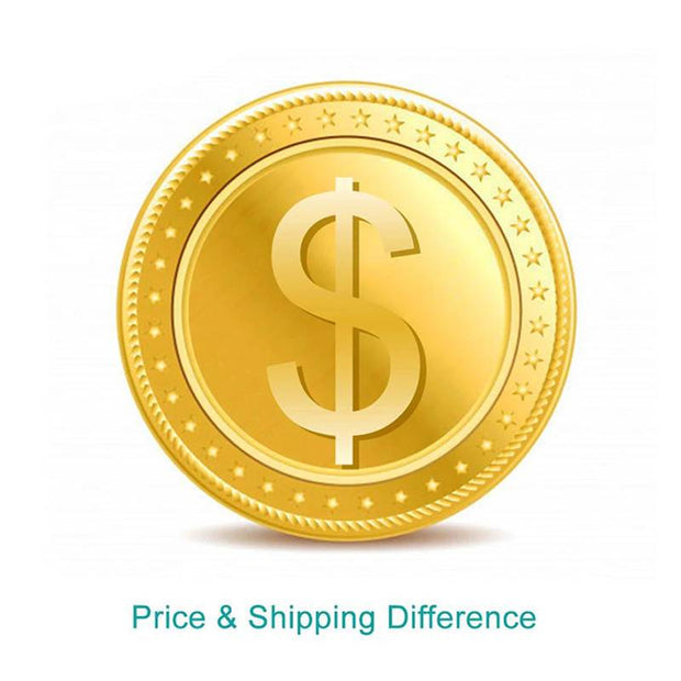 shipping cost and price difference on your order AliGrace