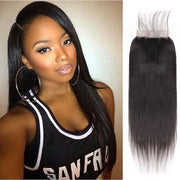 Malaysian Straight 5x5 Lace Closure 8-22inch Available Straight Human Hair Lace Closure Natural Color