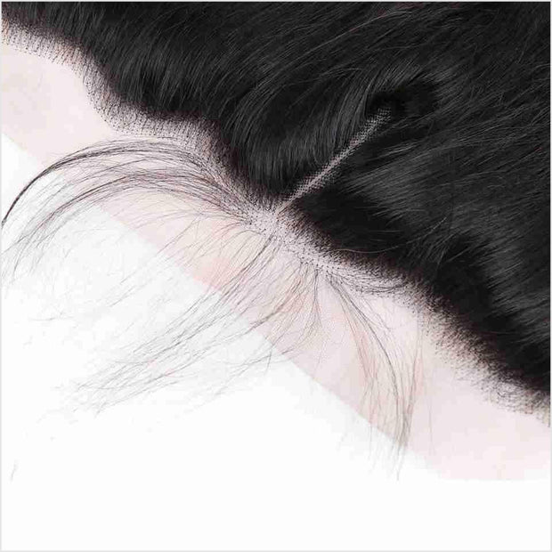 Peruvian Straight Hair 13*4 Lace Frontal-3