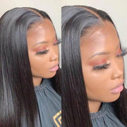 Malaysian Straight Lace Front Wigs-10