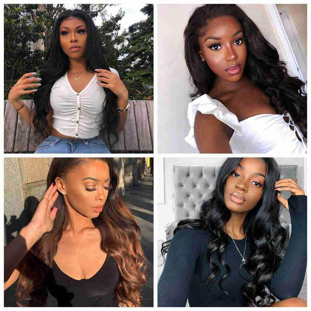 Brazilian Body Wave 13X4 Lace Frontal-7
