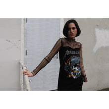 Load image into Gallery viewer, Metallica Disarm Stripes Mesh T-shirt Dress