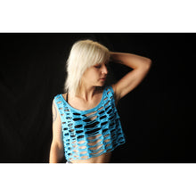 Load image into Gallery viewer, Gammaray Poly-Cotton Loose Cut Crop Top