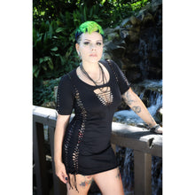 Load image into Gallery viewer, Black Magic American Apparel T-shirt Dress