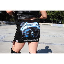 Load image into Gallery viewer, Metallica Ride The Lightning Cut T-shirt Skirt