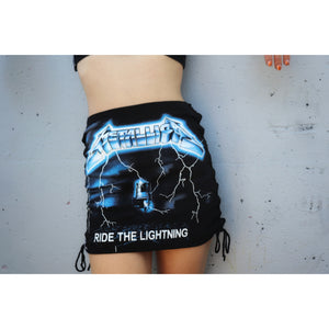 Metallica Ride The Lightning Cut T-shirt Skirt