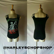 Load image into Gallery viewer, Metallica Size XL Slashed Sleeves Bodysuit
