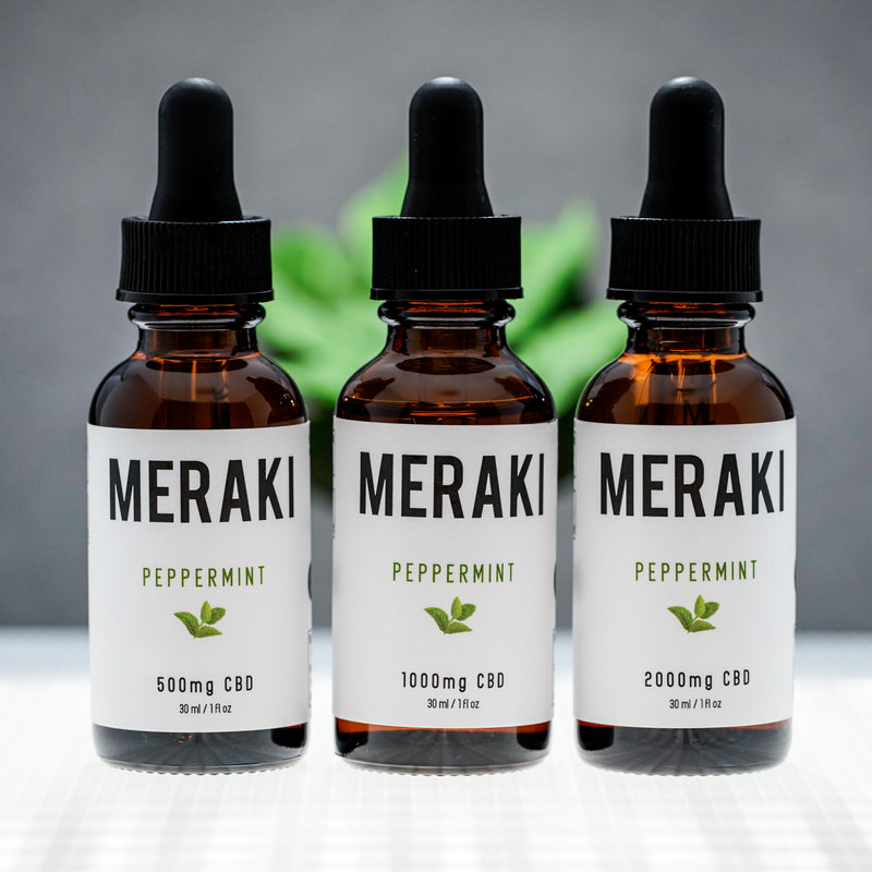 Peppermint Flavored CBD Oil | Meraki CBD