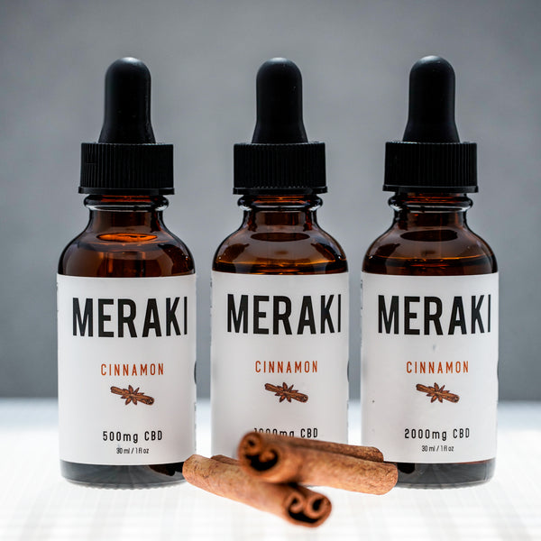 Cinnamon Flavored CBD Oil | Meraki CBD