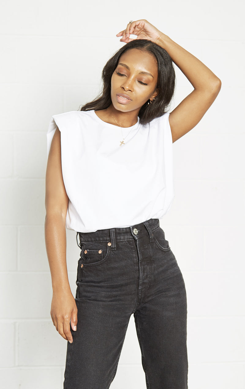 PUFF SHOULDER TEE