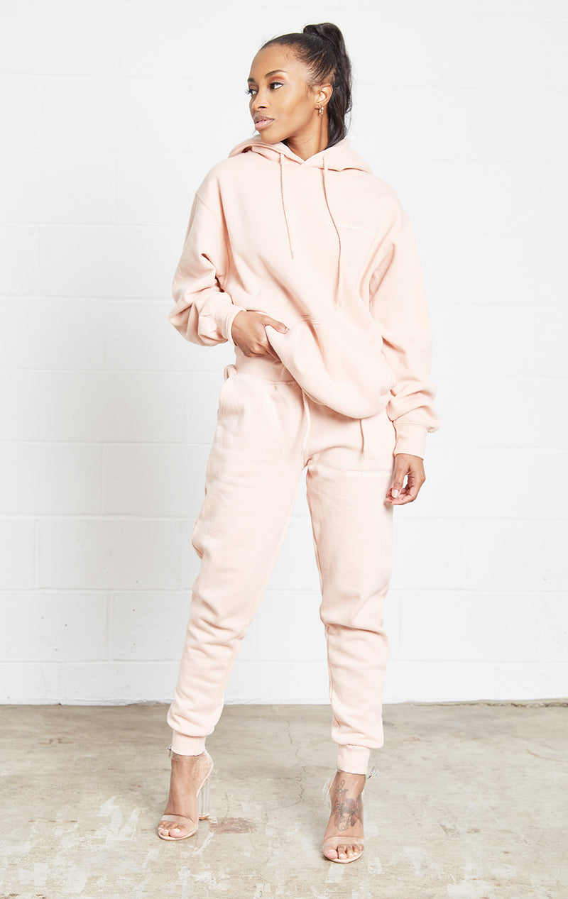 SALMON JOGGER SWEATSUIT SET