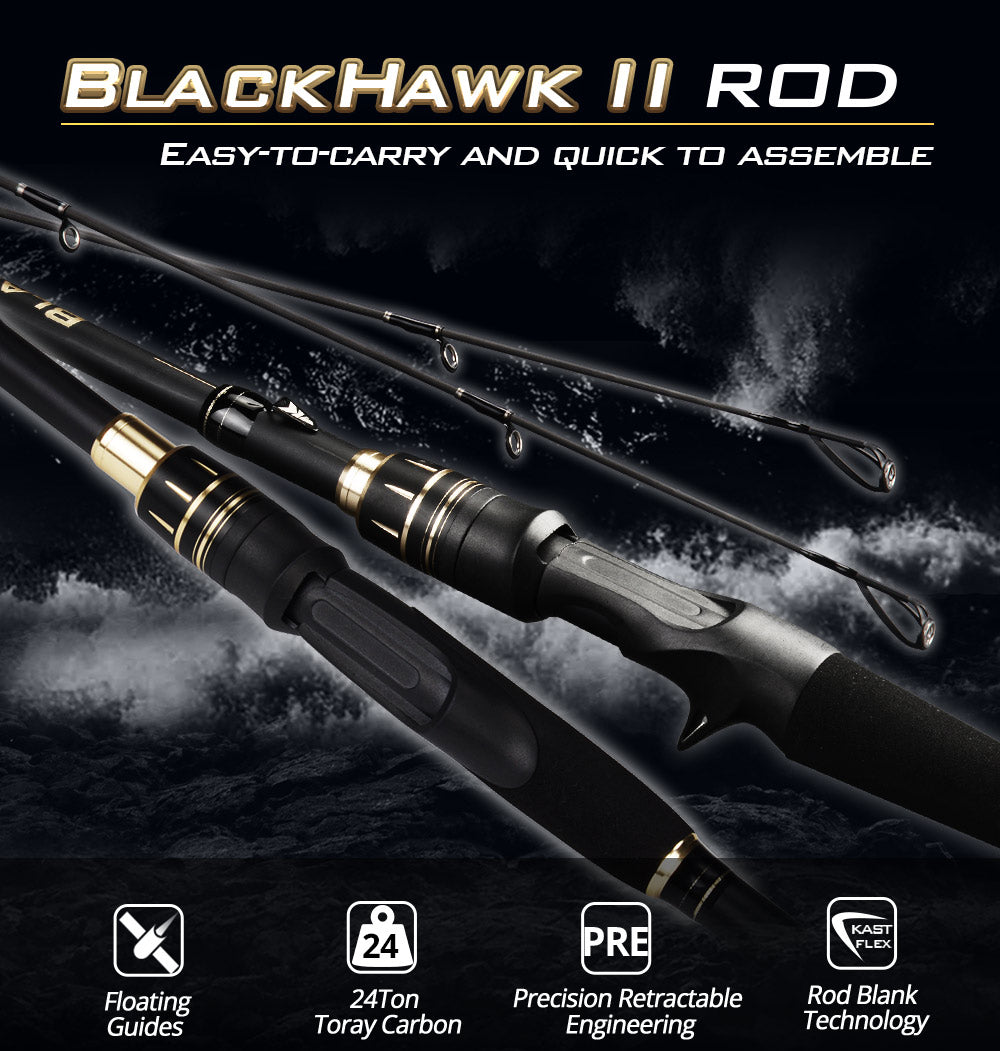 BlackHawk II Telescopic Casting/Spinning Rod