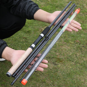 "Ultra-Lightweight 6-Section Travel Rod - 9'10.11"" / 3M"
