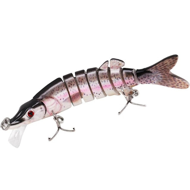 Pike Multi-Jointed Lures - 9cm, 12cm, 15cm