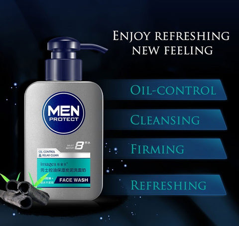 Men oil-control moisturizing